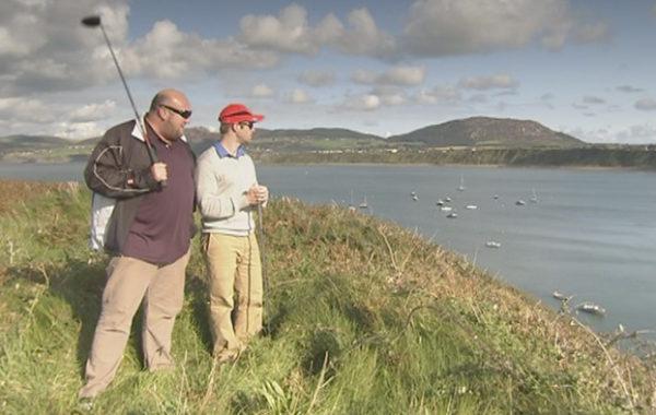 A Cart Across Wales : Golf Poem